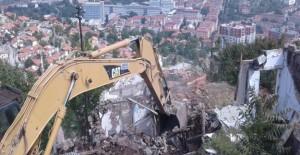 Ankara Hıdırlıktepe'de 545 gecekondu ve metruk yapının yıkımı gerçekleştirildi!