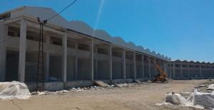 Antalya Finike Sahilkent Toptancı Hal Kompleksi'nin yüzde 70'i tamamlandı!