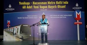 Hacıosman-Yenikapı metro hattında kullanılacak 68 adet vagon yerleştirildi!
