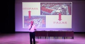 Konya Beyşehir'i katlı otopark ve kapalı pazar yeri projesi!