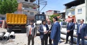 Osmangazi Belediyesi Tuna Mahallesi'ne modern meydan yapıyor!