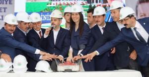 Samsun İlkadım Yeni Belediye Hizmet Binası ve Camii'nin temeli atıldı!
