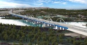 Adana Devlet Bahçeli Köprüsü'nde çalışmalar hızla devam ediyor!