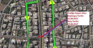 Antalya Burhanettin Onat Caddesi 1 Ağustos itibari ile trafiğe kapanıyor!