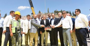 Balıkesir Çamlık Tepesi'nde bulunan Hilal Camii'nin temeli atıldı!
