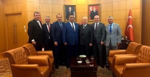Başkan Sözlü'nün 12 dev projesini Devlet Bahçeli destekledi!