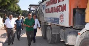 Çukurova Belediyesi 4 mahallede altyapı çalışmalarına devam ediyor!