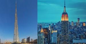 Dünyanın en yüksek binaları yarışıyor!