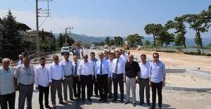 İznik Sahil Düzenleme Projesi'nde çalışmalar devam ediyor!