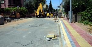Kepez Belediyesi Fabrikalar Mahallesi'nde altyapı çalışmalarına başladı!