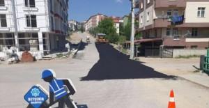 Konya Beyşehir'de yollar yenileniyor!