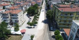 Manisa Soma Atatürk Caddesi çalışmaları tüm hızıyla devam ediyor!