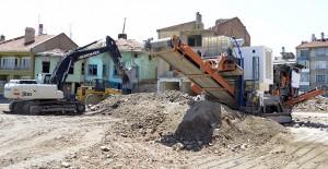 Meram Belediyesi hafriyatları geri dönüştürüyor!