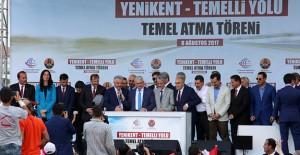 Ankara Sincan'da Yenikent-Temelli Bulvarı'nın temeli atıldı!