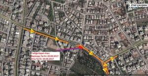 Antalya Avni Tolunay ve Narenciye 15 gün süreyle trafiğe kapatılacak!