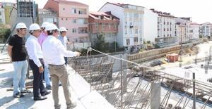 Başkan Baltacı, Arnavutköy'de devam eden projeleri inceledi!