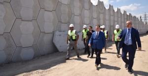 Başkan Ergün, Manisa Öğretmenevi Kavşağı çalışmalarını yerinde inceledi!