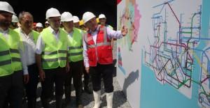 Başkan Topbaş ve Aydın metro çalışmalarını yerinde inceledi!