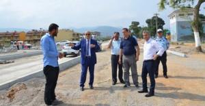 Başkan Altınok Öz, Kartal'da devam eden projeleri inceledi!