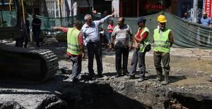 Eyüp Belediyesi İslambey'de altyapı sorununu çözüyor!