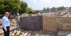 İznik Belediyesi kırsal alanlara sosyal tesis yapıyor!