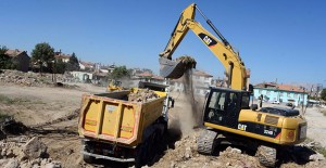 Meram Uluırmak Kentsel Dönüşüm Projesi'nde yıkımlar devam ediyor!