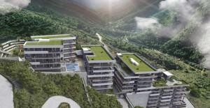 Tanyer İnşaat'ın Narlıdere projesi; BulutOrman Evleri