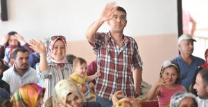 TOKİ Kayseri'de 3 projede toplam 580 konutun kurasını çekti!