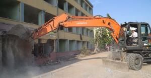 Uşak Kent Park kentsel dönüşüm projesinde yıkımlar başladı!