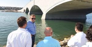 Başkan Uğur, Balıkesir Cunda Köprüsü çalışmalarını yerinde inceledi!