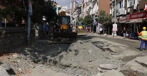 Eyüp Belediyesi İslambey Caddesinde yenileme çalışmalarına devam ediyor!