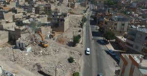 Gaziantep Kıbrıs mahallesinde yıkım çalışmaları devam ediyor!