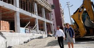 İzmir Konak Aziziye semt merkezinde çalışmaları devam ediyor!