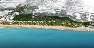 Antalya Konyaaltı sahil projesinde çalışmalar başladı!