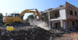 Bursa Yunuseli'nde kamulaştırılan 3 binanın yıkımı gerçekleştirildi!