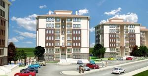 Samsun Tekkeköy'de TOKİ binalarının çalışmaları devam ediyor!