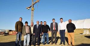 TOKİ Kastamonu Taşköprü'de 310 konutluk inşaatının şantiyesini kurdu!