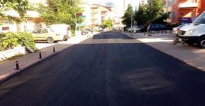 Ankara Keçiören'de yol asfaltlama çalışmaları hızla devam ediyor!