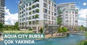 Sinpaş Aqua City Bursa projesi geliyor!