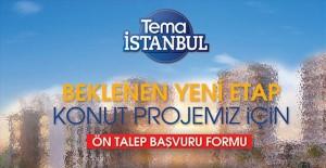 Tema İstanbul Bahçe projesi ön talep formu!