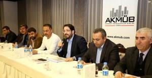 Aksaray Belediye Başkanı Haluk Yazgı Müteahhitlere projelerini anlattı!