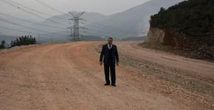 Başkan Çerçi Toplu Konut projelerinin bağlantı yollarını inceledi!