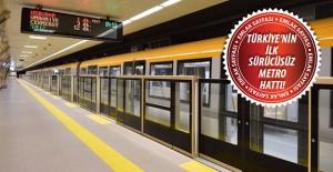 Üsküdar-Ümraniye-Çekmeköy-Sancaktepe metrosunun 1. etabı açıldı!