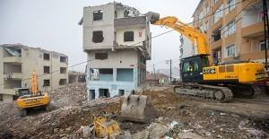 Gaziosmanpaşa Yıldıztabya'da kentsel dönüşüm yıkımları devam ediyor!