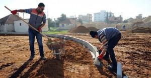 Kepez Fevzi Çakmak mahallesi dönüşüm projesinde sosyal alanlar inşa ediliyor!