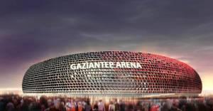 33 bin seyirci kapasiteli Gaziantep Arena Stadyumu!