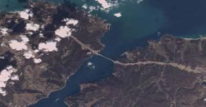 3. Köprü uzaydan görünüyor!