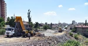 Altındağ Ulubey'de yeni yol açıldı!