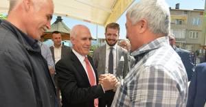 Başkan Bozbey'den Işıktepe'ye pazaryeri sözü!