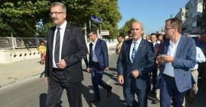 Bursa Büyükşehir Belediyesi'nden Karacabey'e yoğun destek